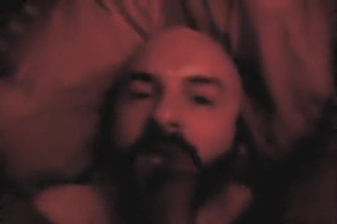 First-timer Hairy Man Providing Head