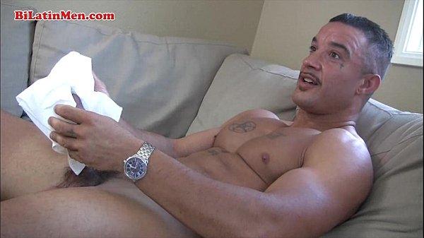 Latino Fag Boxer Masturbating Off