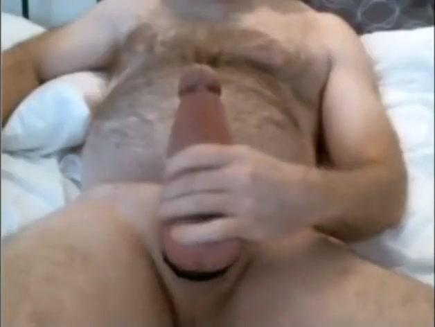 Solo Man Jacks Off His Man Sausage